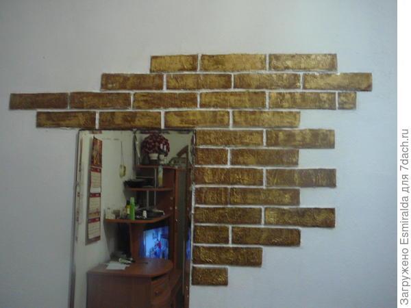 стена из кирпичиков