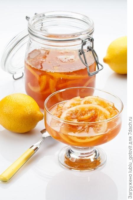 Варение из лимонов в мультиварке
