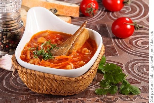 Наваристый и сытный суп харчо