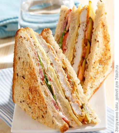Слоеный бутерброд