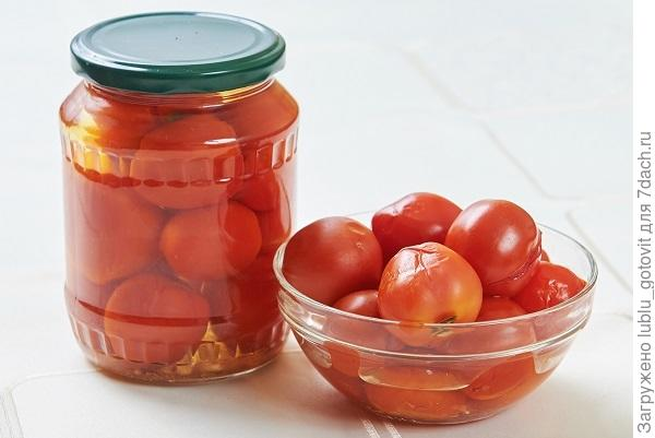 Остро-сладкие помидоры Помидоры по-словацки