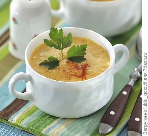 Молочный суп с репой