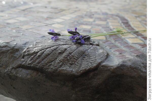 бетонный листик