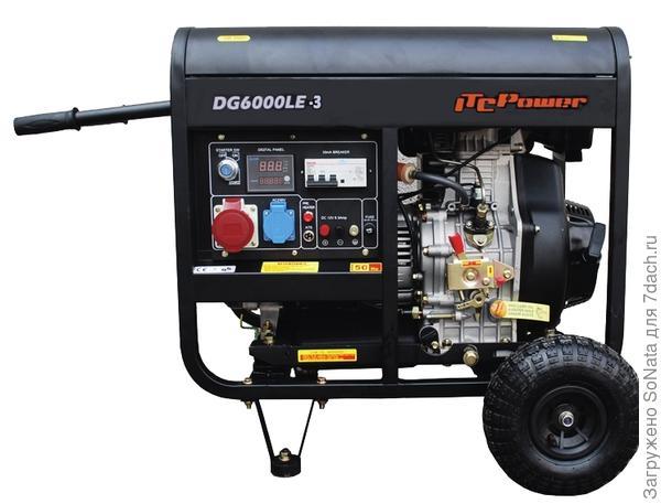 Дизельный генератор теперь стал более компактным, но шумит по-прежнему.