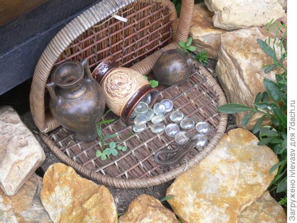 Домик для ящерицы.