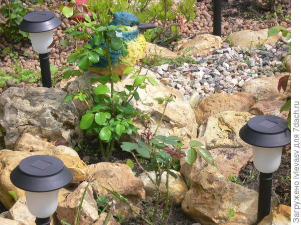 Фонари и камни