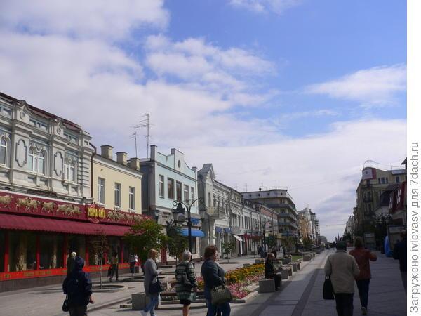 ул. Ленинградская  пешеходная