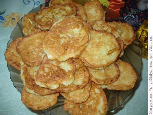 Вкусные оладушки рецепт с фото