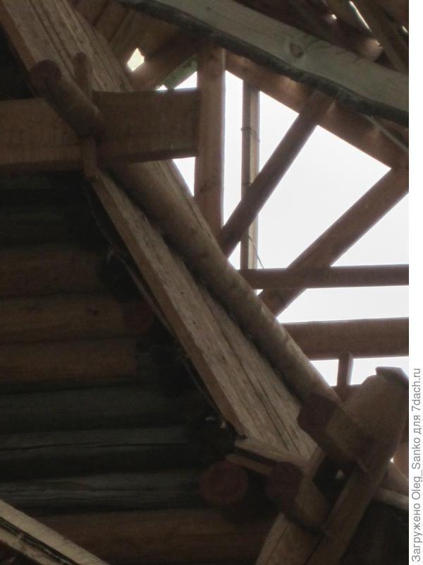 Вариант снегозадержание в русском деревянном зодчестве