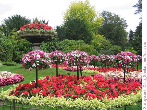 Парк культуры в английском городе Бат