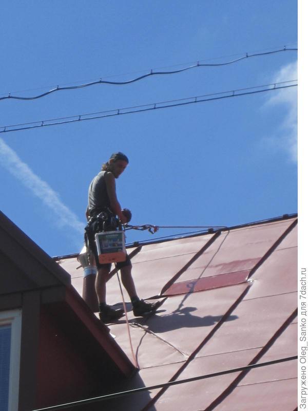 При чистке дымоходов соблюдайте технику безопасности