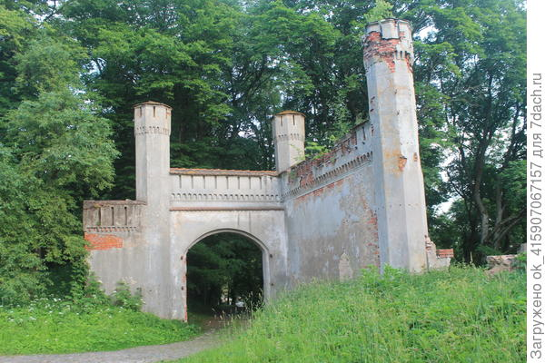 ворота замковые