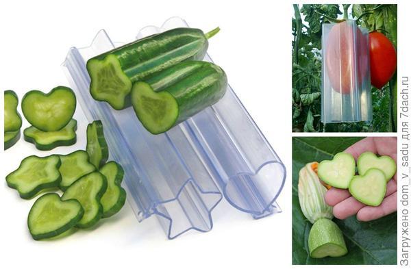 Забавные формы для овощей