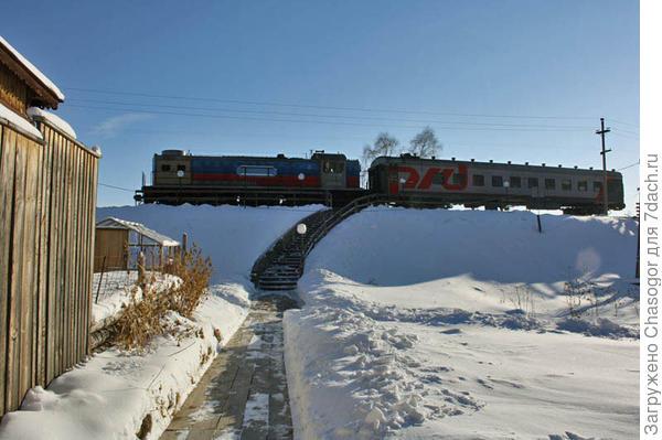 """поезд называют """"мотаня"""""""