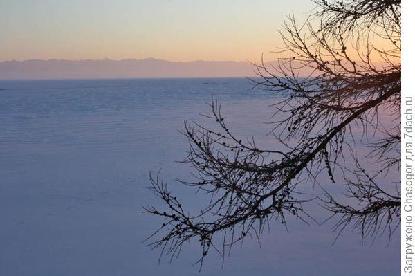 закат над Хамар-Дабаном