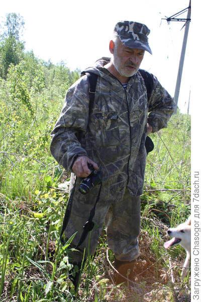 Виктор - не только охотник, но и фотограф