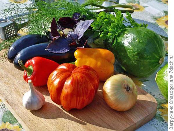берём эти овощи