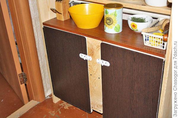 стеллаж в кухне