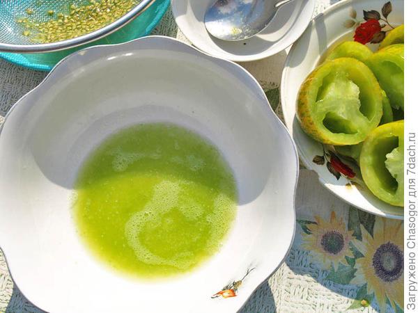 сок из Зебры зелёной