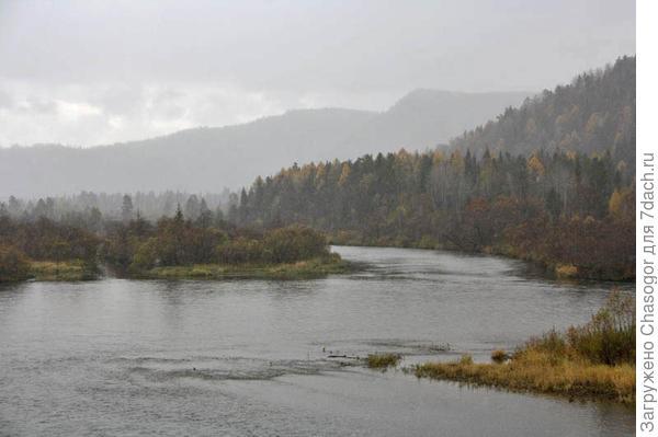 река Мана в Унгуте
