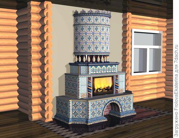 Русская печь. Фото с сайта radikal.ru