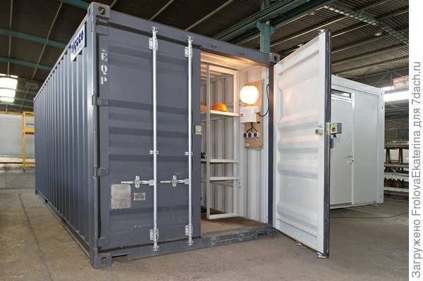 Контейнерное хранение. Фото с сайта algeco.ua