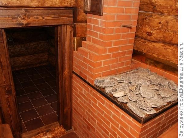 Кирпичная печь для бани. Фото с сайта kotel.guru/