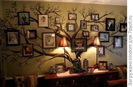 Не для сада идея. Но очень хочу сделать генеалогическое древо, чтобы знал внук откуда его род идет.