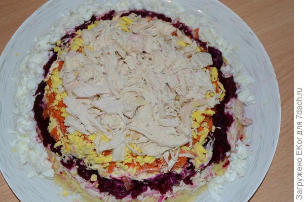 салат шапка мономаха рецепт с фото