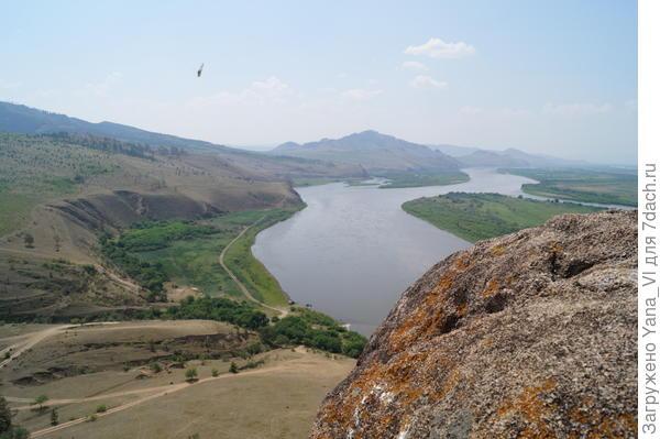 Вид на реку с вершины