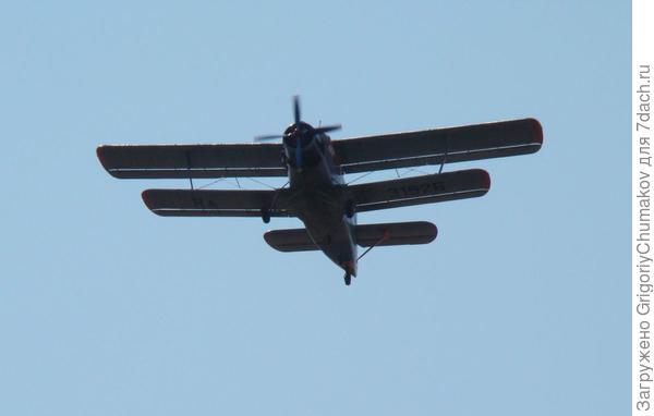 самолет пажарников