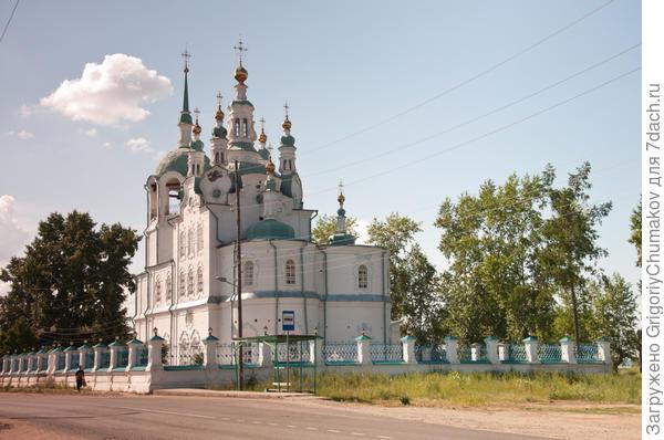 Церковь г. Енисейск