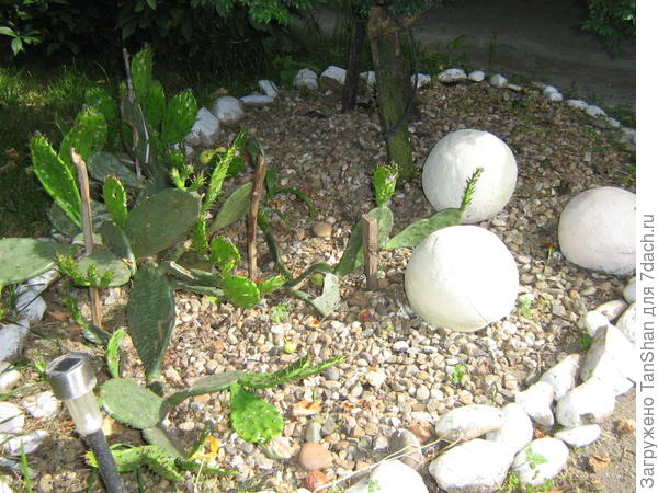 шары из бетона