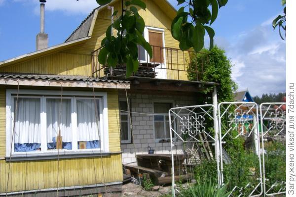 дом до ремонта