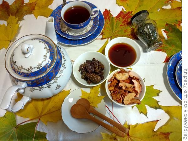 В Питере холодно, предлагаю чашечку горячего чая с с сиропом из сосновых шишек, попробуй, пожалуйста!