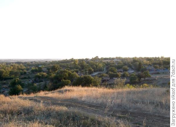"""Светланочка, - это """"лысая"""" гора на хуторе Вишневецкий в сентябре, местные рассказывали про то как она выглядит весной..."""