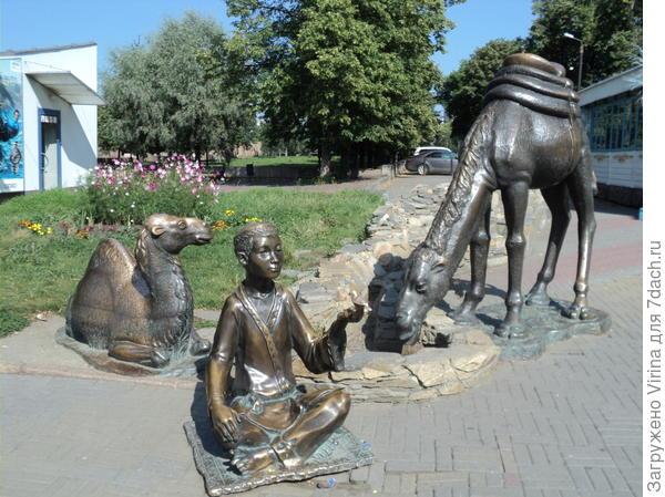 паренек и верблюд