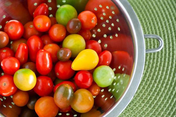 Такие разные помидоры черри