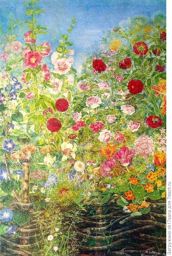 Цветочное царство Екатерины Белокур (1900-1961)