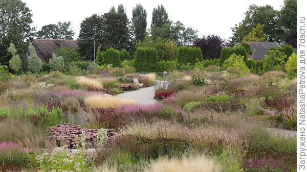 Парк Vlinderhof. Фото с сайта http://oudolf.com/