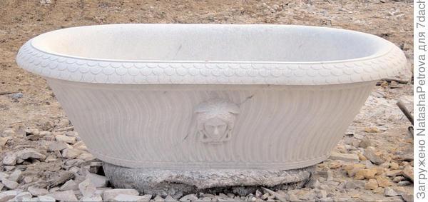 Мраморная ванна. Из архива камнеобрабатывающей компании Петрополь