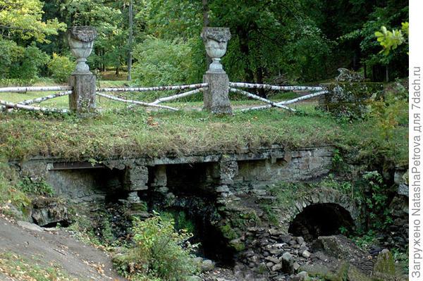 Руинный каскад в Павловском парке. Архитектор Винченцо Бренна. Фото с сайта http://www.citywalls.ru/