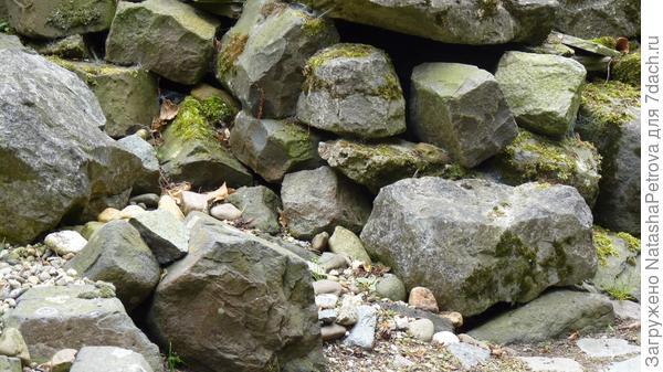 Естественный каменистый сад