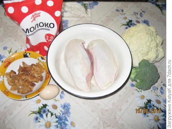 запеканка из курицы