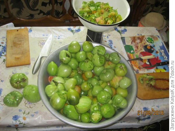 закуска из зеленых помидоров кузнечики
