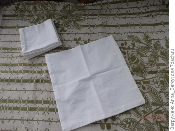 Чехольчики для подушечек (30х30)
