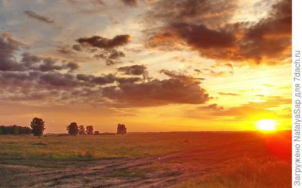 Августовский закат