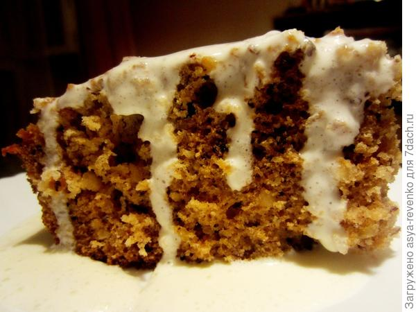 пирог с соусом