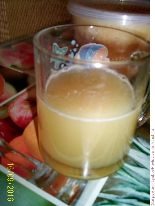 Сок чёрной редьки и мёд