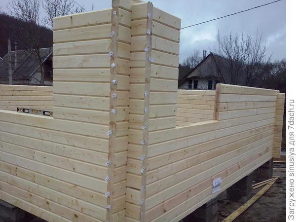 Возведение деревянного дома